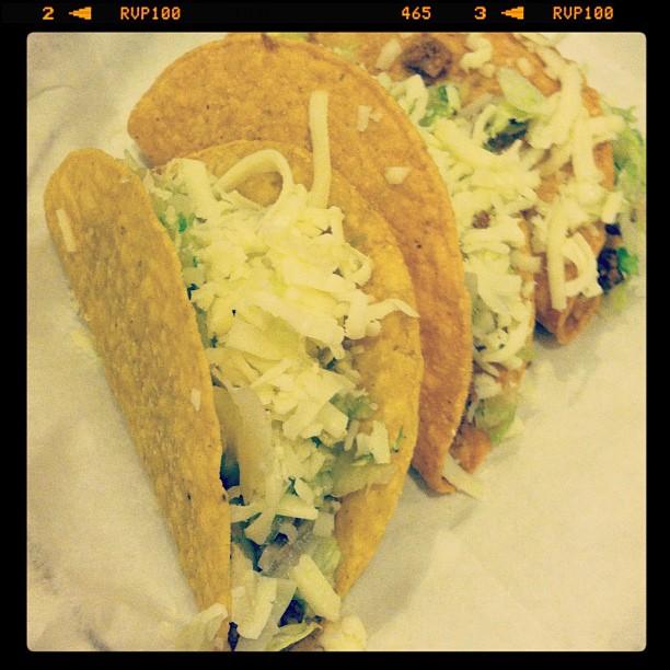 Tacos from Casa Vieja