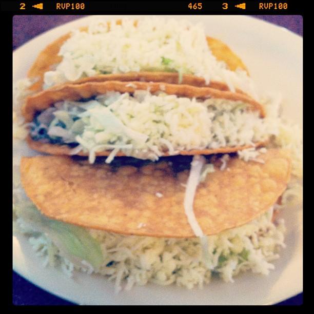 Tacos from El Jardin