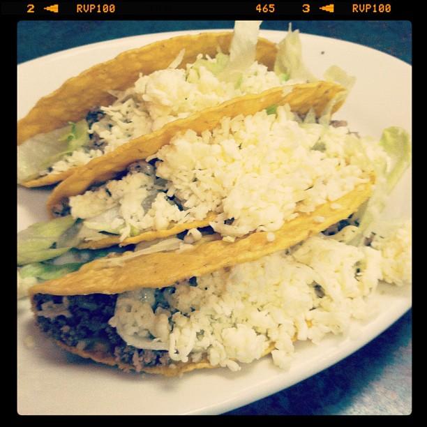 Tacos from El Pueblo Mexican Restaurant