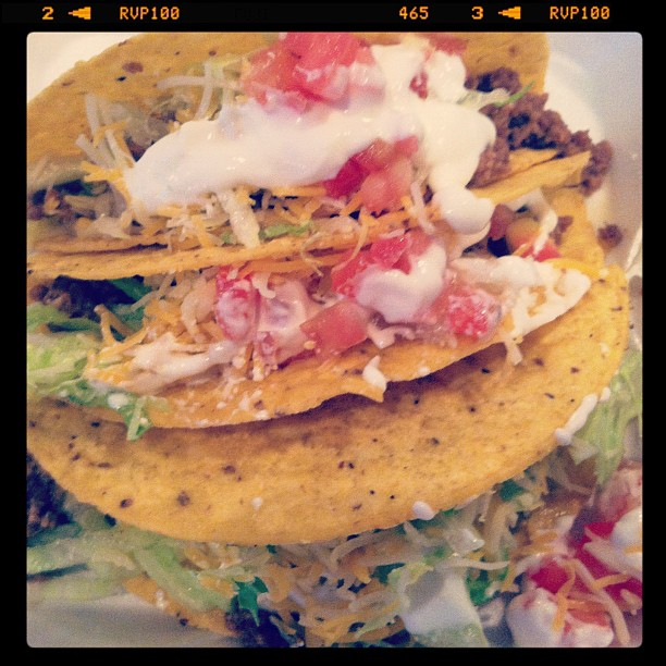 Tacos from Pepe's Mexican Express