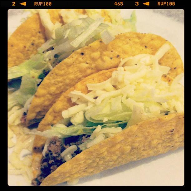 Tacos from Las Cazuelas Mexican Grill