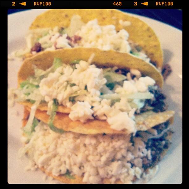 Tacos from De La Paz