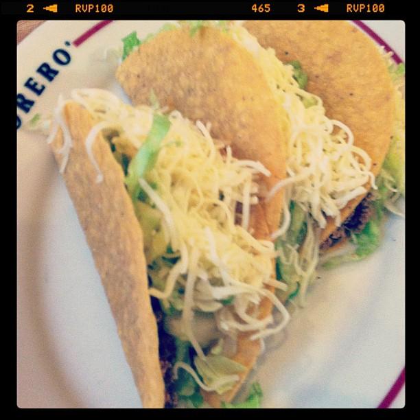 Tacos from El Torero Mexican Restaurant