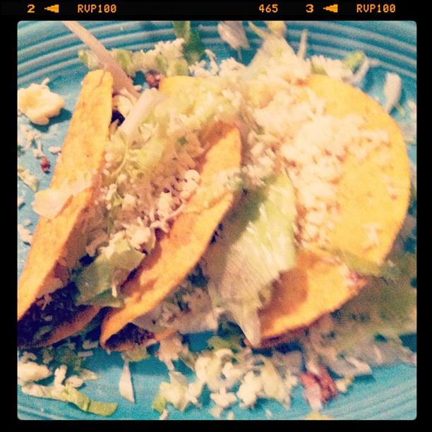 Tacos from El Rodeo